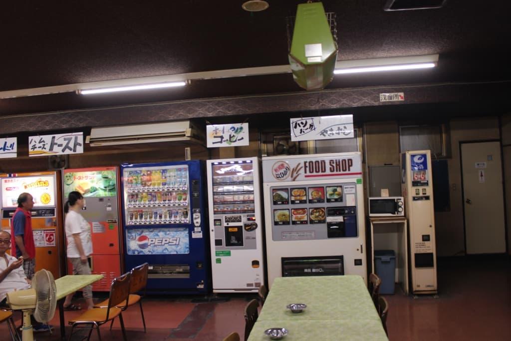 軽食の自販機