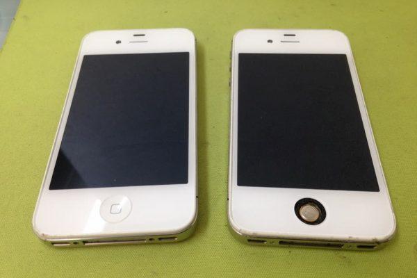 iPhone4sを修理してガラケーSIMを入れてみた